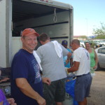 This is how we volunteer in Quartzsite, AZ.